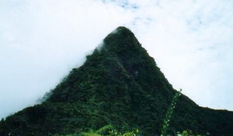 Titiwangsa Mountains of Malaysia