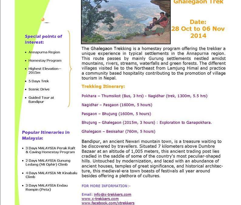449: Annapurna Homestay Trek, Nepal
