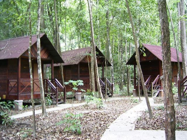 Ledang huts