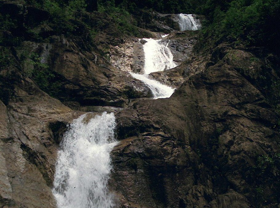 Berkelah Waterfalls