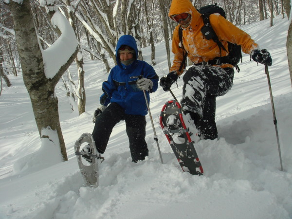 snow shoeing-5