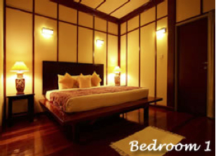 Kinabalu Park - NEPENTHES LODGE Bedroom 1