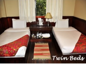 Kinabalu Park - ROCK HOSTEL Twin Bed