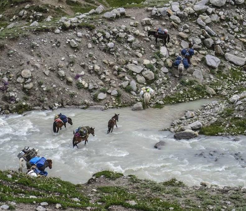 Miyar Valley-11 River Crossing