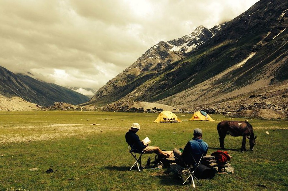 Miyar Valley-19 one of the picturesque campsites on the way
