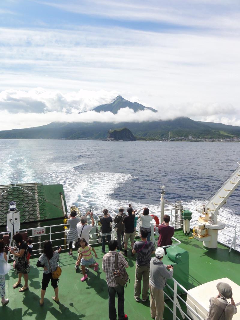 Ferry Ride Rishiri Island-Rebun Island-1