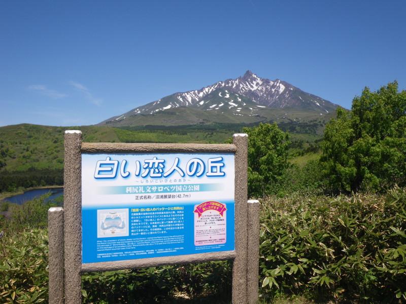 Mt Rishiri Lookout Point