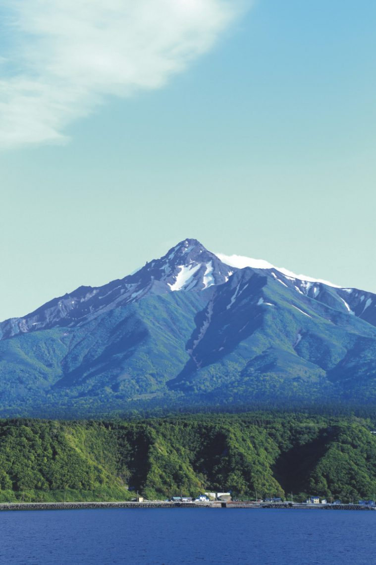 Mt Rishiri in Rishiri Island