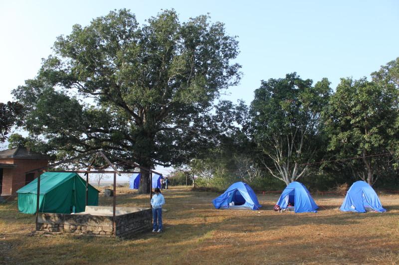Camping at Nuwakot