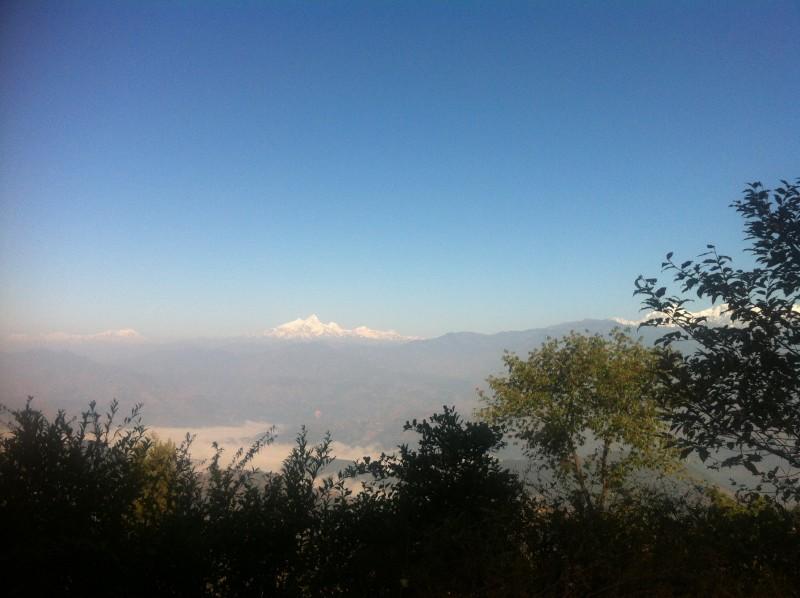 Mt views from Nuwakot