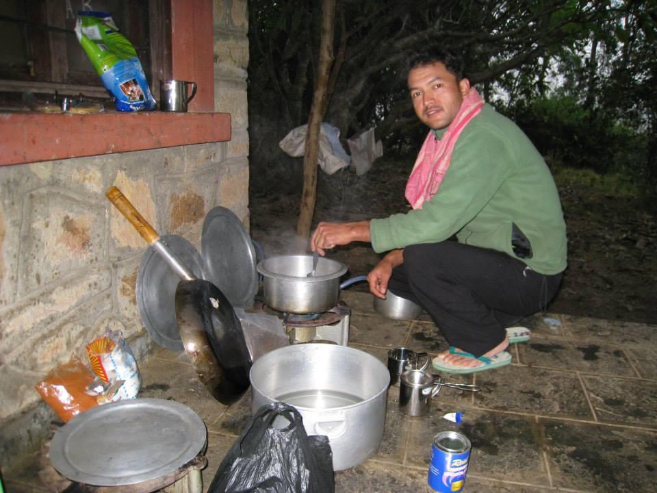 Kitchen duties